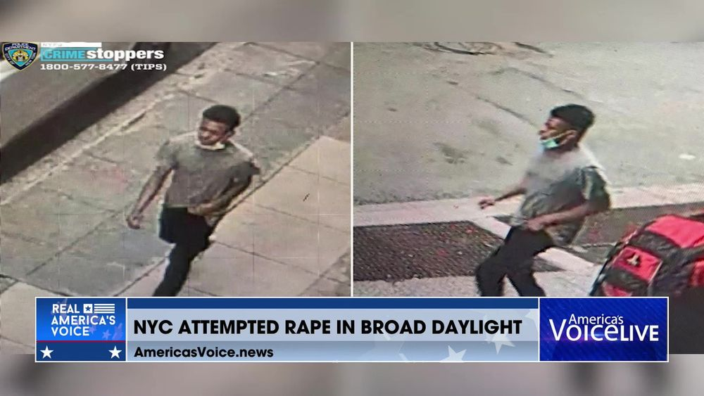 NYC Attempted Rape in Broad Daylight