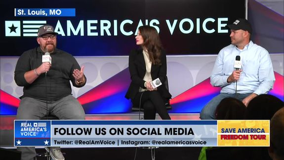 Amanda, Ben, and Jeremy Herrell Continue the Save America Freedom Tour